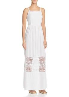 AQUA Lace-Inset Maxi Dress - 100% Exclusive