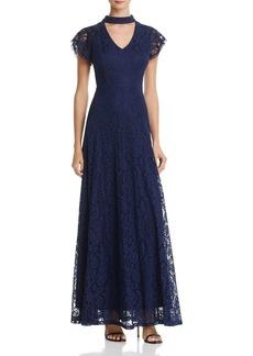 AQUA Lace Maxi Dress - 100% Exclusive