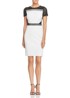 AQUA Lace Pencil Dress - 100% Exclusive