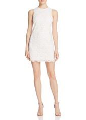 AQUA Lace Ponte Dress - 100% Exclusive