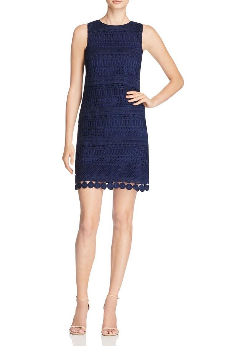AQUA Lace Shift Dress