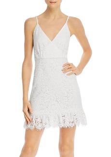 AQUA Lace Sleeveless Ruffled Dress - 100% Exclusive