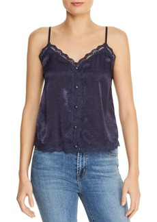 AQUA Lace-Trim Camisole - 100% Exclusive