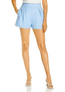 AQUA Lace Trim Shorts - 100% Exclusive