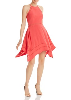 AQUA Ladder-Inset Fit-and-Flare Dress - 100% Exclusive