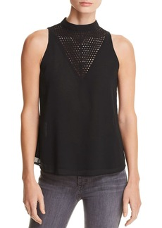 AQUA Lattice Detail Top - 100% Exclusive