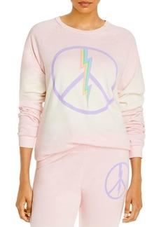 AQUA Lauren Moshi x AQUA Electric Peace Sweatshirt - 100% Exclusive