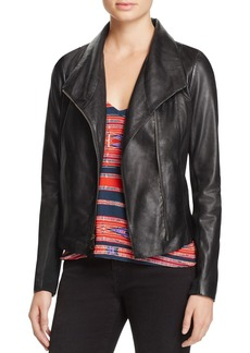 AQUA Leather Jacket - 100% Exclusive