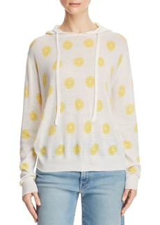 AQUA Lemon Print Hooded Sweater - 100% Exclusive