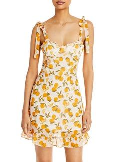 AQUA Lemon Tree Ruffle Dress - 100% Exclusive