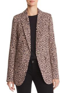 AQUA Leopard Print Blazer - 100% Exclusive