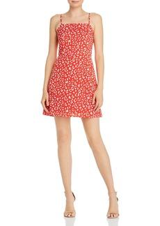 AQUA Leopard Print Mini Dress - 100% Exclusive