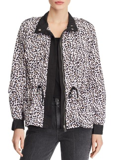 AQUA Leopard Print Raincoat - 100% Exclusive
