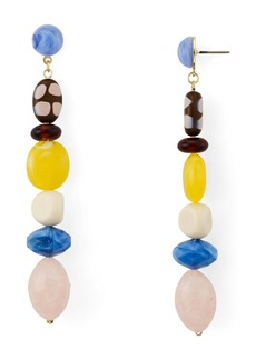 AQUA Linear Drop Earrings - 100% Exclusive