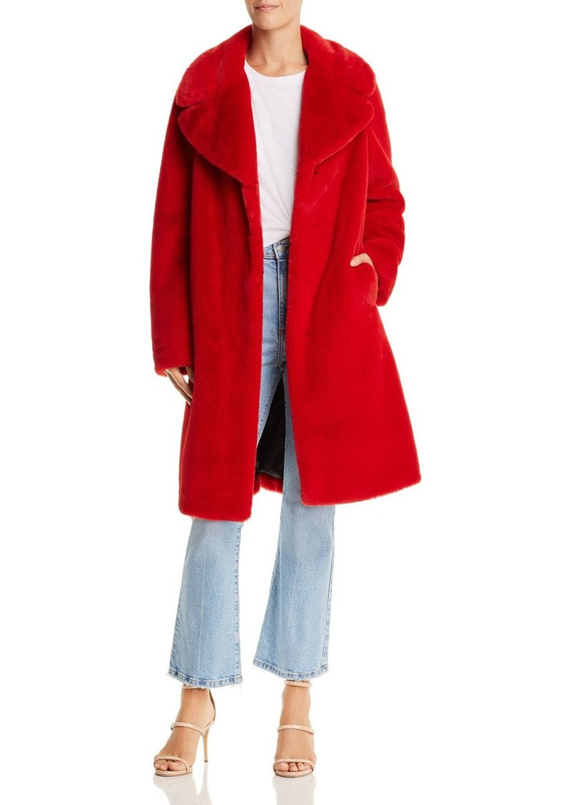AQUA LUXE Capsule Faux Fur Coat - 100% Exclusive