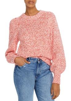 AQUA Marled Balloon-Sleeve Sweater -100% Exclusive