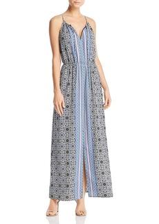 AQUA Medallion Print Maxi Dress - 100% Exclusive