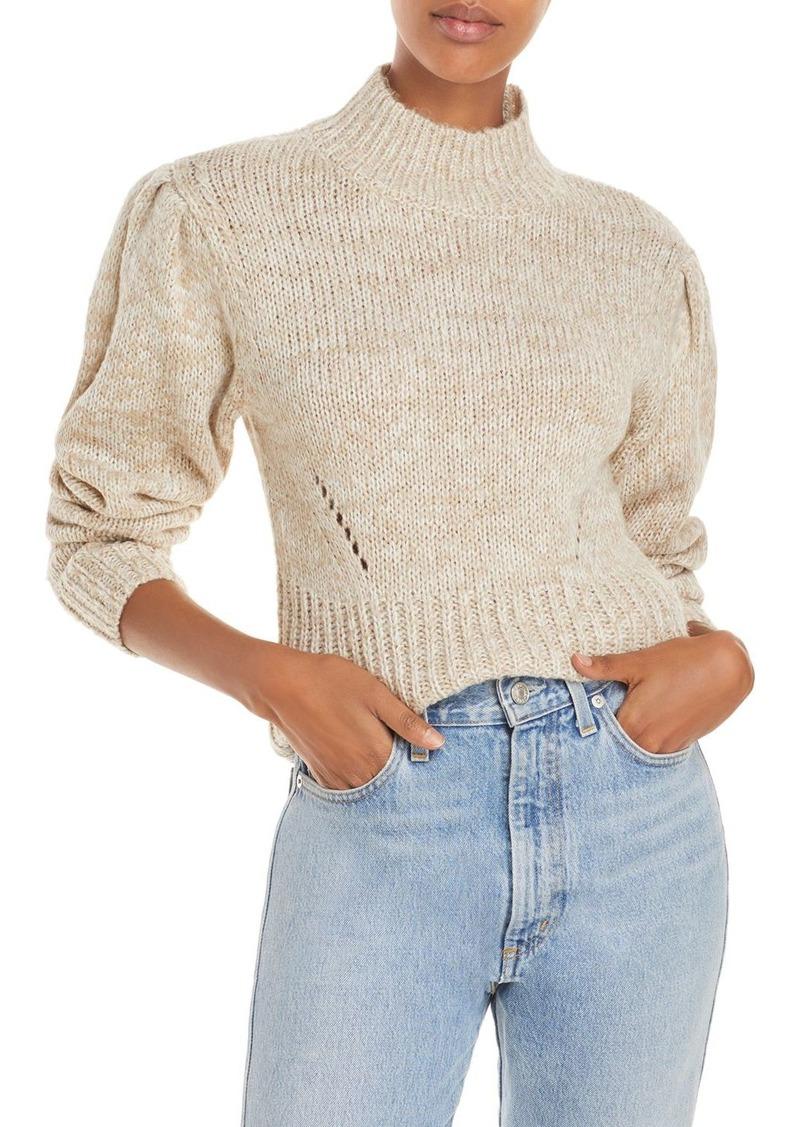 AQUA Mock Neck Sweater - 100% Exclusive