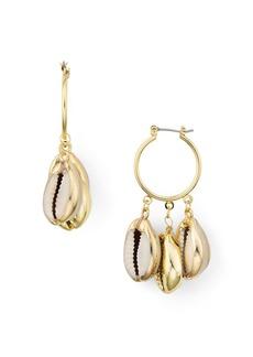 AQUA Multi Shell Hoop Earrings - 100% Exclusive