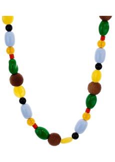 """AQUA Multicolor Mixed-Bead Necklace, 26"""" - 100% Exclusive"""