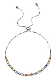 AQUA Multicolor Stone Sterling Silver Slider Bracelet - 100% Exclusive