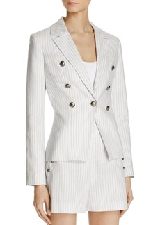 AQUA Nautical Chalk Stripe Blazer - 100% Exclusive