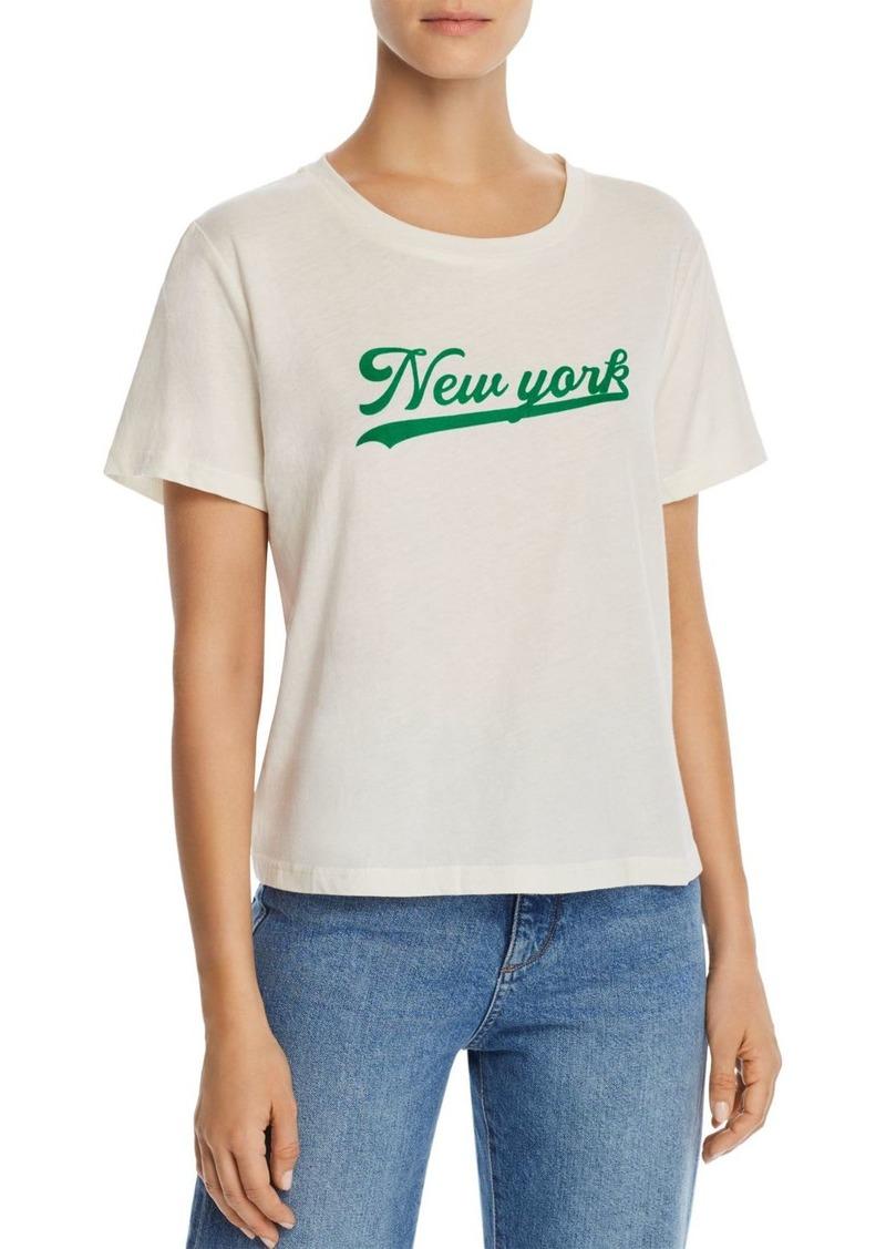 AQUA New York Flocked Tee - 100% Exclusive