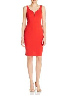AQUA Notched Body-Con Dress - 100% Exclusive