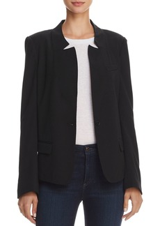 AQUA Notched Collar Blazer - 100% Exclusive