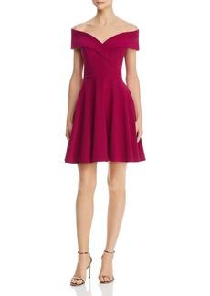 AQUA Off-the-Shoulder Dress - 100% Exclusive