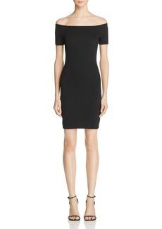 AQUA Off-The-Shoulder Jersey Dress - 100% Exclusive