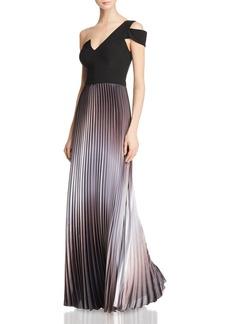 AQUA One-Shoulder Ombr� Gown - 100% Exclusive