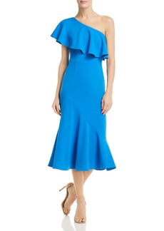 AQUA One-Shoulder Ruffled Dress - 100% Exclusive