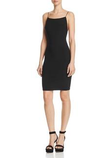 AQUA Open-Back Body-Con Dress - 100% Exclusive
