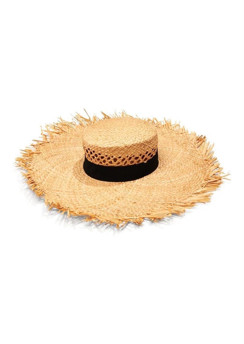AQUA Open Weave Crown Hat - 100% Exclusive