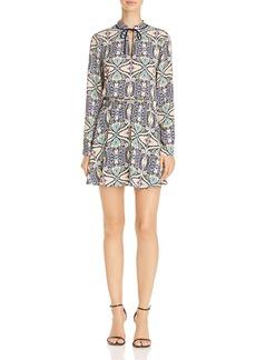 AQUA Paisley Floral Print Dress - 100% Exclusive