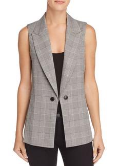 AQUA Plaid Vest - 100% Exclusive