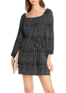 AQUA Polka Dot Pliss� Dress - 100% Exclusive