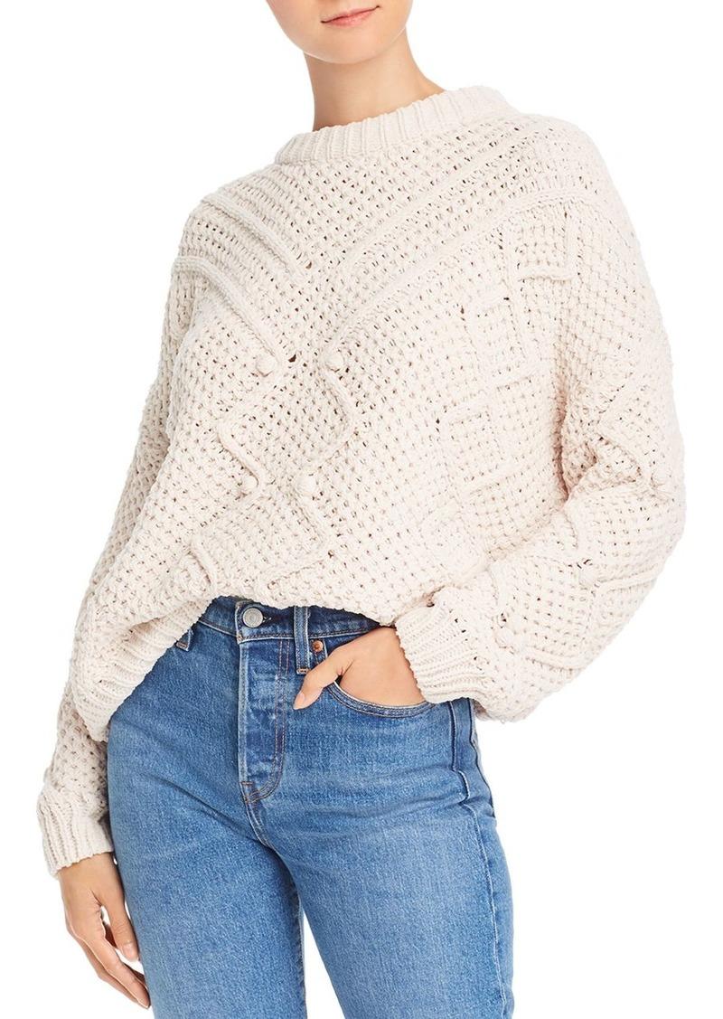 AQUA Popcorn Chenille Sweater - 100% Exclusive