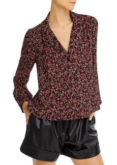 AQUA Printed Button Front Shirt - 100% Exclusive