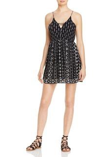 AQUA Printed Cami Dress - 100% Exclusive