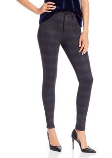 AQUA Plaid Skinny Pants - 100% Exclusive