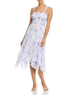 AQUA Printed Sleeveless Midi Dress - 100% Exclusive