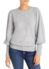 AQUA Cashmere Balloon Sleeve Sweater - 100% Exclusive