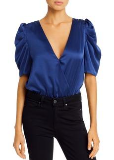 AQUA Puff-Sleeve Crossover Bodysuit - 100% Exclusive
