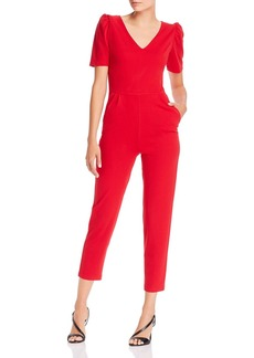 AQUA Puff-Sleeve Jumpsuit - 100% Exclusive