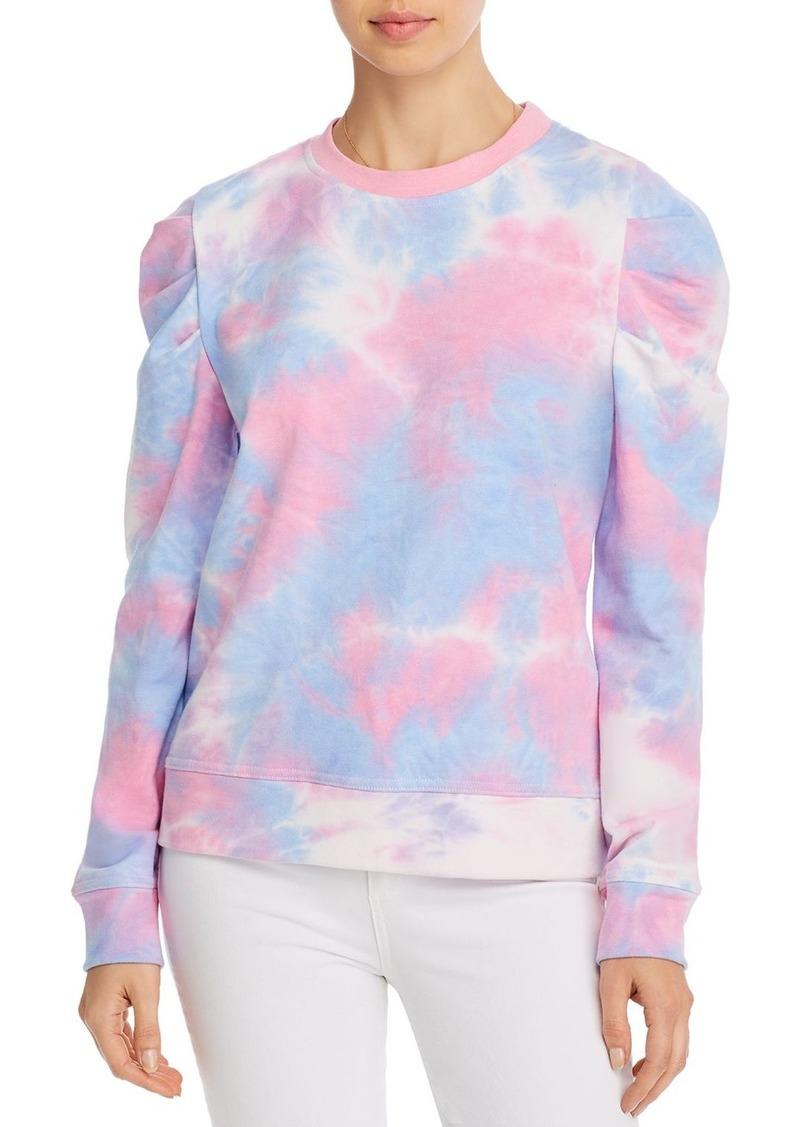 AQUA Puff-Sleeve Tie-Dye Sweatshirt - 100% Exclusive