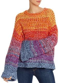 AQUA Rainbow Marled Sweater - 100% Exclusive