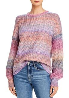 AQUA Rainbow Space-Dye Sweater - 100% Exclusive
