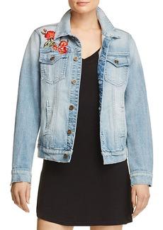 AQUA Rose Denim Jacket - 100% Exclusive